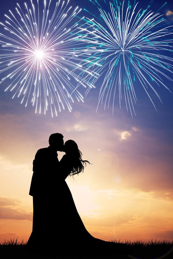 Allstar Fireworks Wedding Displays